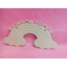 4mm MDF Hanging Rainbow Bridge